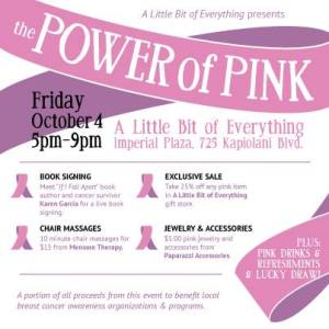 Join us at a Pink Party Fundraiser and Book Signing