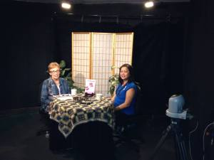 Kukui Connection host, Marilyn Lee, interviewed Karen about IF I FALL APART.